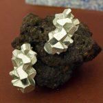 pendientes medianos harria plata sobre piedra de BaRock jewelry