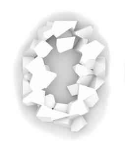 Pendientes medianos harria de BaRock jewelry