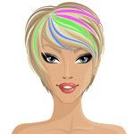 barock jewelry color de pelo fantasía