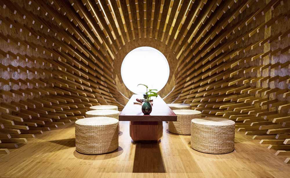 Casa de té Trippy en Shangai por MINAX Architects